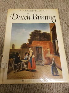 Book of masterpieces of Dutch paintings