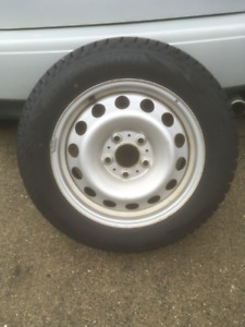 Mini Snow Tires on rims