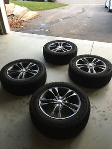 235/55 R17 NORDIC WINTER TIRES AND RIMS