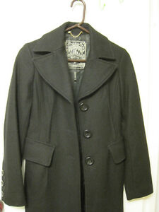 Guess Wool blend coat (S) peacoat style -Manteau d'hiver (Petit)