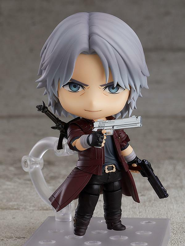 In STOCK Nendoroid Devil May Cry 5 Dante: DMC5 Ver. 1233 Action Figure