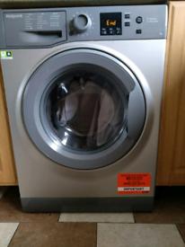 Washing machine,Hotpoint, Grey