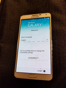 Samsung Galaxy Note 3 White Rogers 32 G