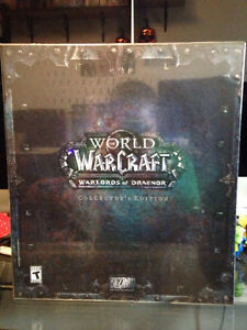 World of Warcraft Warlords of Draenor Sealed Collector's Edition