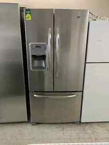 MAYTAG STAINLESS STEEL SIDE-BY-SIDE FRIDGE ONLY 999+HST!!!