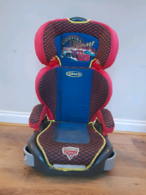 Disney cars high back booster seat