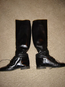 All leather English riding boots by Emerson