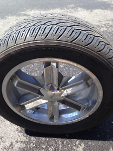 Low profile tires and rims