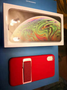 Iphone XS Max 256GB, Brandnew, sealed  with Free RED phonecase