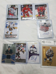 Lot of assorted hockey rookie cards