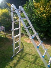 10 in 1 multi-purpose decorators ladder