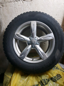 Winter mags and tires from Audi Q5