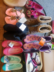 8 pairs of girl shoes(Some brand new)