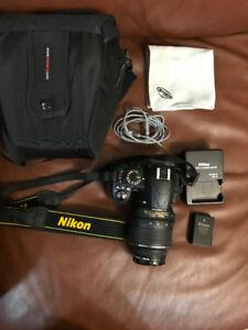 Nikon D3100 Camera with Nikkor 18-55mm lens