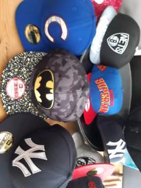 Baseball caps all new