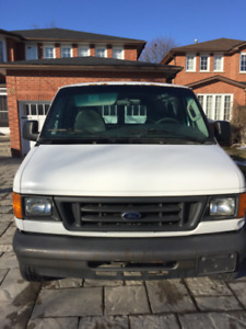 SOLD 2007  Ford E150 Cargo Van
