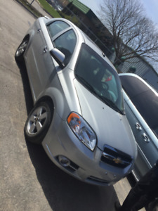 2011 Silver Chevrolet Aveo LT - Safety Certified!