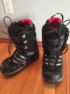 Mens snowboard boots size 9