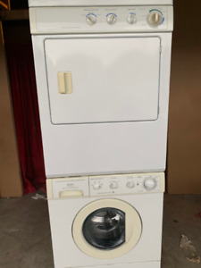 """""""27"""" kenmore stakable washer and dryer for sale"""