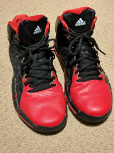 Boys Adidas Basketball Shoes - good condition