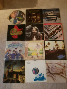 Vinyl LP Records including David Bowie Picture Disc and More