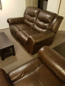 FURNISH YOUR HOME!! Loveseat, Recliner, Tables, Shelves, Etc!