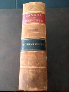 1927 Canada Supreme Court Law Reports