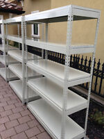 (FREE DELIVERY) 5 SHELF STEEL SHELVING! 10 x 10 POP UP TENTS!