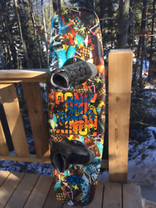 Ronix Bill ATR 2014 135 cms  wakeboard with O'Brien boots