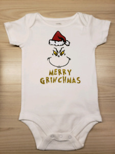 The Grinch Christmas Onsie 3-6 Months