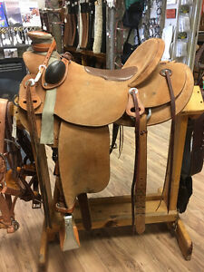 "Used 16"" Frontier 20X Wade Saddle for Sale"