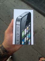 Iphone 4s brand new unlock with 13 month apple care