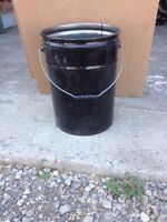 Brand new steel pails for sale