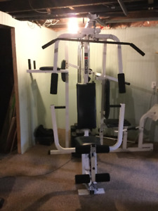 Weider 9635 personal all in one gym