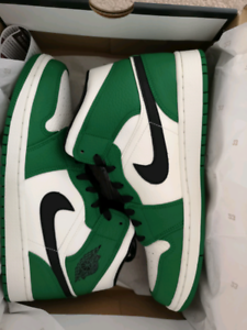 fb030d9927118c Air Jordan 1 Mid Pine Green US10
