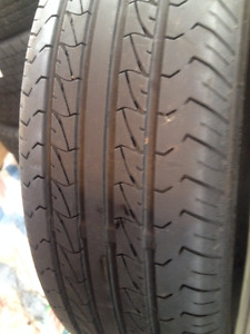 2 Nankang  Summer tires 185/70/14
