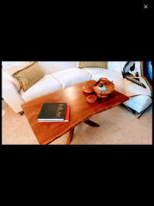 REDUCED MUST SELL NEED SPACE,Live edge coffee table