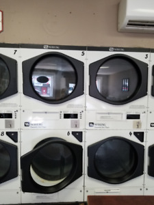 Coin Operated Maytag Double Stack Dryers
