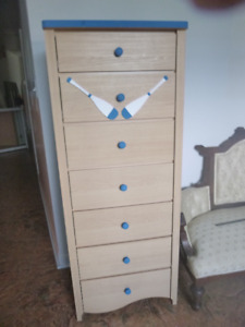 7-drawer dresser (60 inches high) plus more...