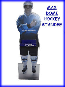 HOCKEY STAND -- ADVERTISING SIGN ==== MAN CAVE ===