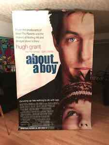 ABOUT A BOY Movie Theater Large 5' x 8' Vinyl BANNER Hugh Grant Edmonton Edmonton Area image 1