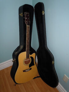 Never used Garrison AG-500-CE Acoustic Electric Guitar O.B.O