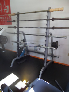 Body Solid Multi Rack
