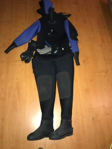 Women's Diving Drysuit - Sea Tux