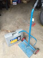 Welding and Cutting Kit with Tank Cart