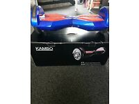 Blue and red Bluetooth Segway