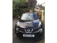 Nissan Juke Visia 1.6 Petrol (Black)