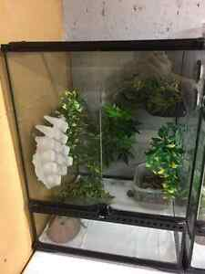 Second hand reptile caging