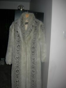 immitation fur coat