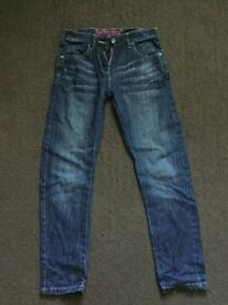 Girls Blue Next Jeans age 10yrs